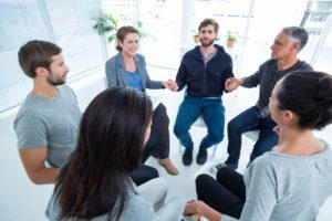 seduta di Terapia di gruppo